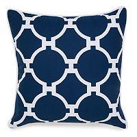 Jill Rosenwald Copley Hampton Links Embroidered Throw Pillow