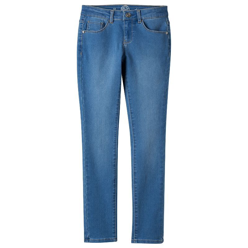 Girls 7-16 & Plus Size SO® Denim Skinny Jeans