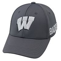 Adult Top of the World Wisconsin Badgers Bolster One-Fit Cap