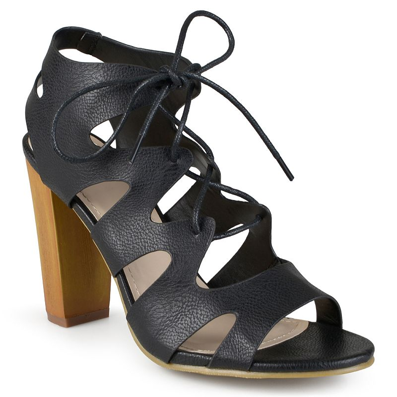 Journee Collection Azure Women's Lace-Up Gladiator Sandals