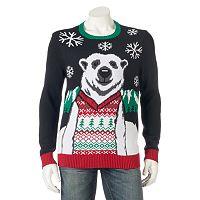 Men's Polar Bear Holiday Sweater