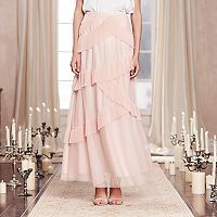 LC Lauren Conrad Runway Collection Tiered Tulle Maxi Skirt - Women's