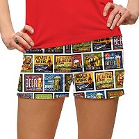 Women's Loudmouth Golf Beer Thirty Mini Shorts