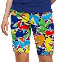 Women's Loudmouth Golf Cocktail Bermuda Shorts