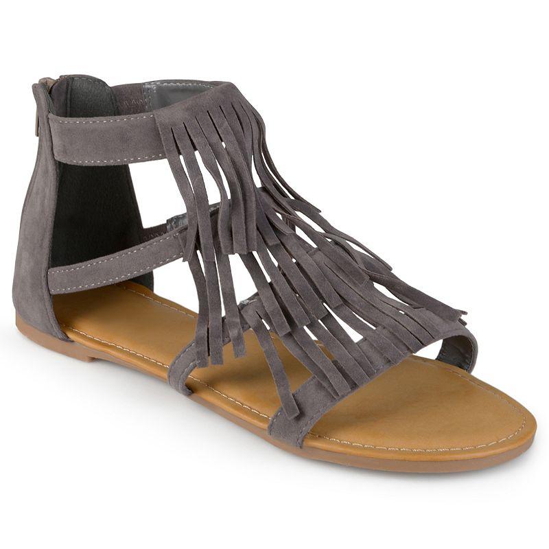Journee Collection Zana Women's Fringe Sandals
