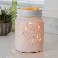 Candle Warmers Etc. Mason Jar Illumination Wax Melt Warmer