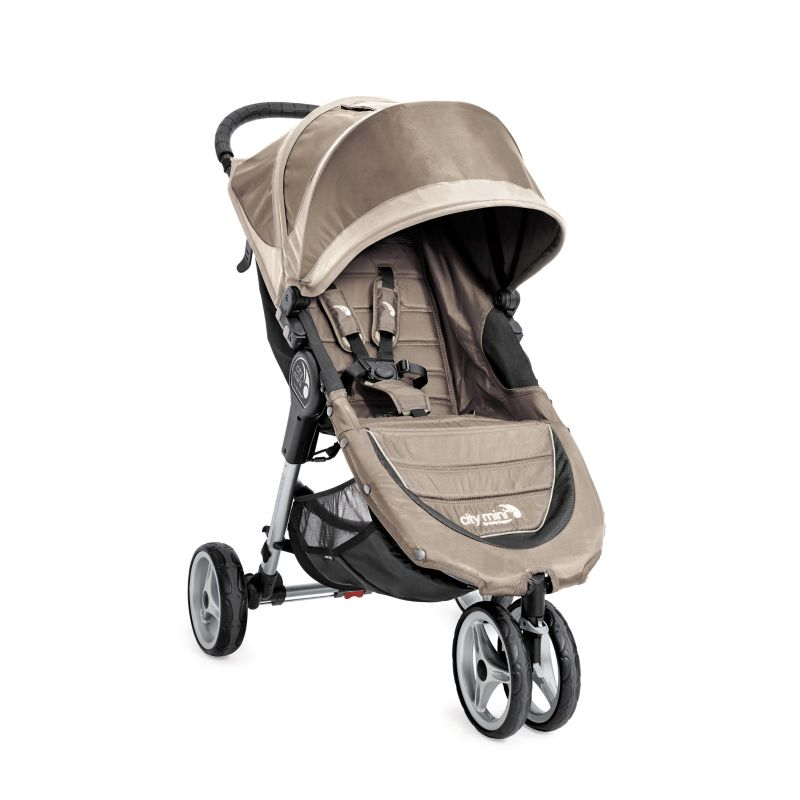 Baby Jogger City Mini Stroller, Beig/Green (Beig/Khaki)
