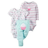 Baby Girl Carter's Graphic Bodysuit & Pants Set