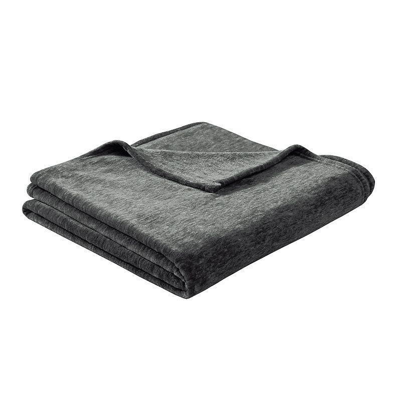 Intelligent Design Melange Plush Blanket