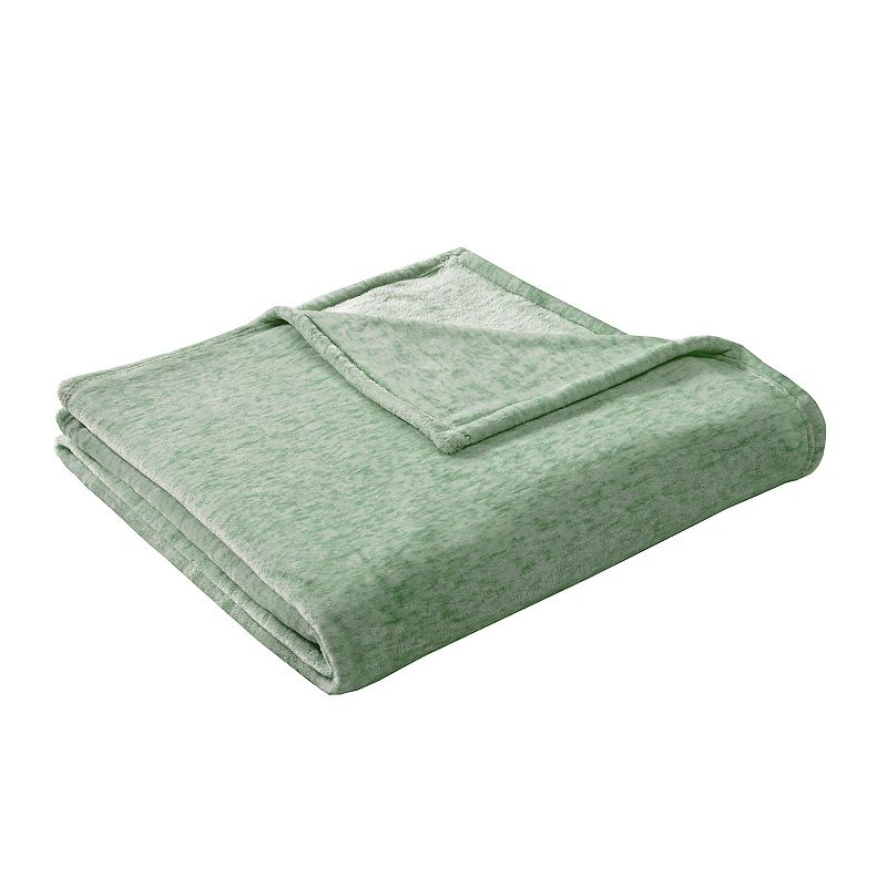 Intelligent Design Melange Plush Blanket