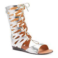 NYLA Meekus Women's Lace-Up Sandals