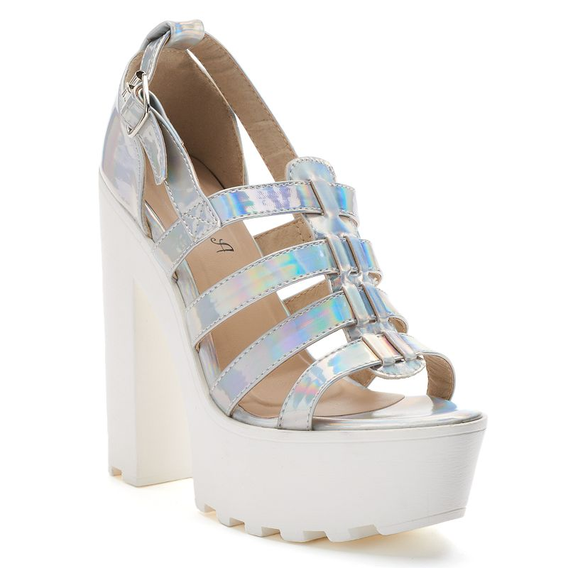 NYLA Stella Women's Platform High Heels
