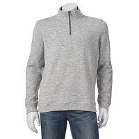 Men's Croft & Barrow Marl Quarter-Zip Sweater