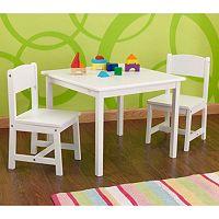 KidKraft® Aspen Table & Chair Set - White