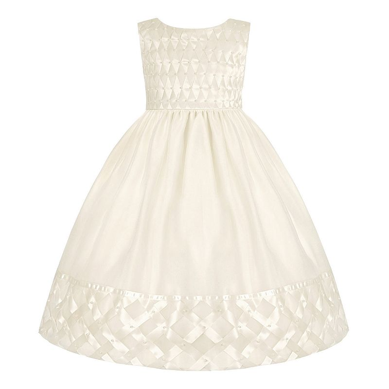 Girls 7-16 & Plus Size American Princess Basketweave Dress