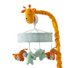 Happi Jungle by Dena Musical Crib Mobile by Lambs & Ivy by