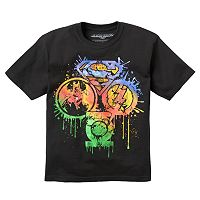 Boys 8-20 DC Comics Justice League Splatter Tee