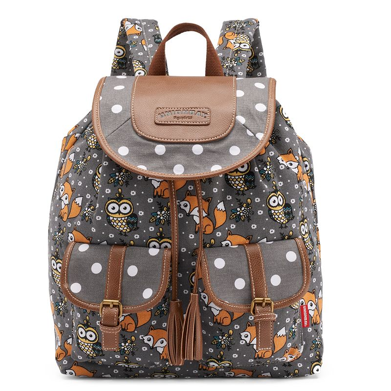 Unionbay Owls & Fox Backpack