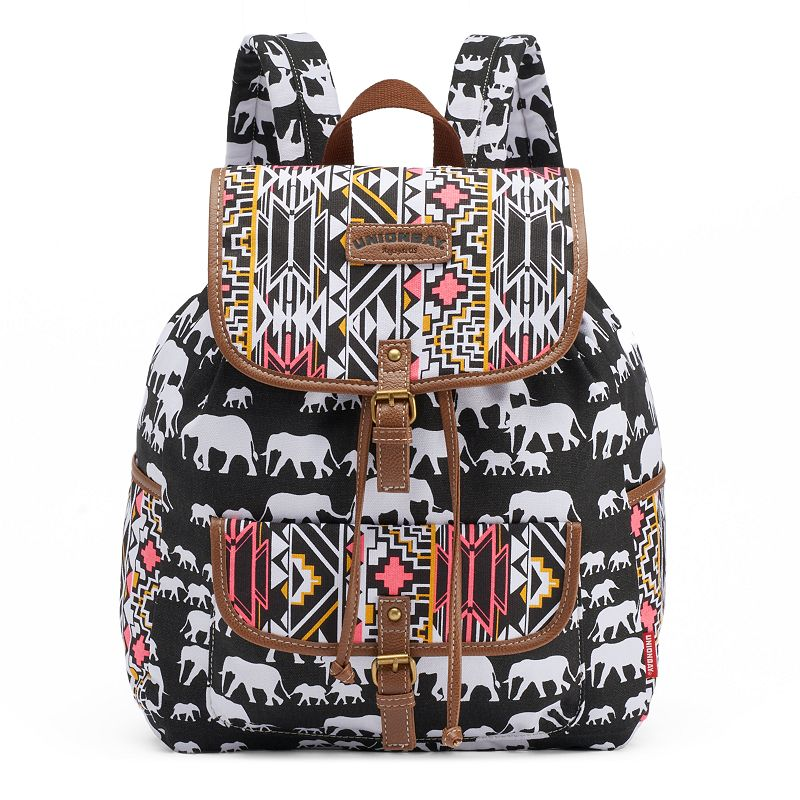 Unionbay Geometric Elephants Backpack