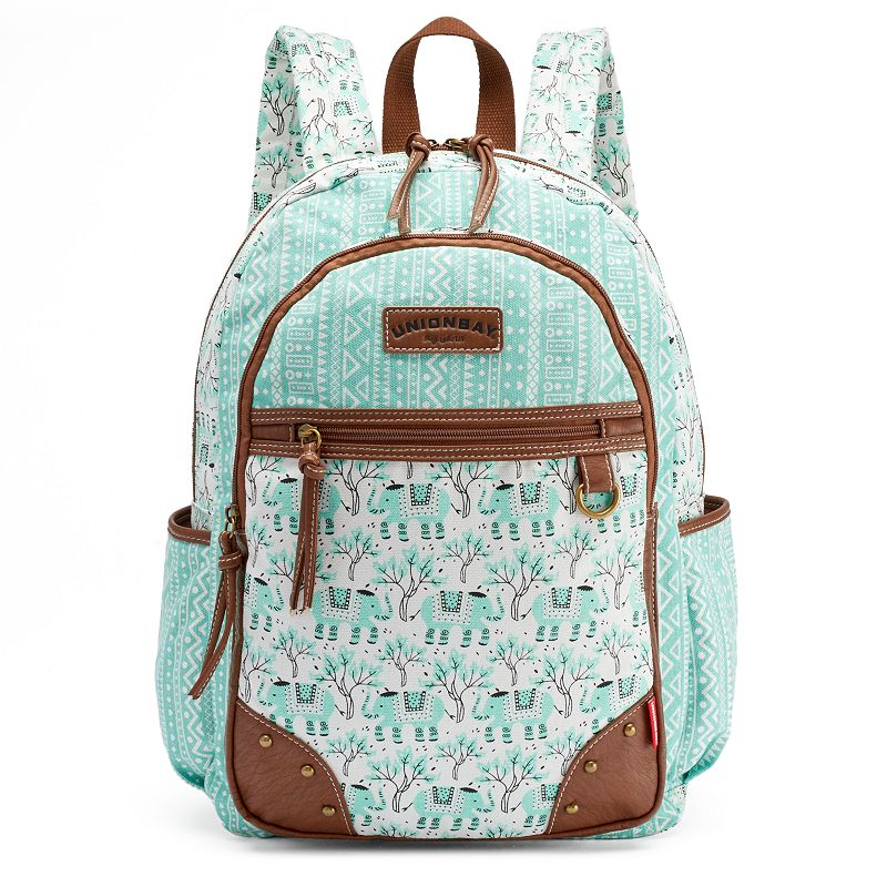 Unionbay Elephant & Tribal Backpack