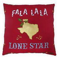 St. Nicholas Square® ''Lone Star'' Throw Pillow