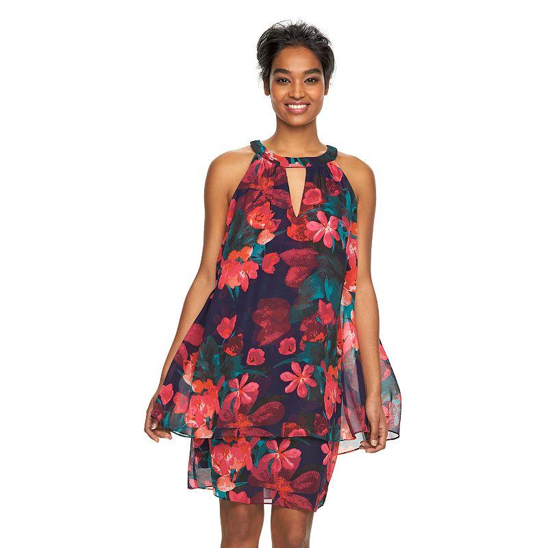 Women's Jessica Howard Floral Popover Dress