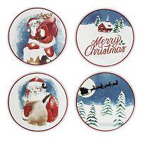 St. Nicholas Square® 4-pc. Santa Coaster Set