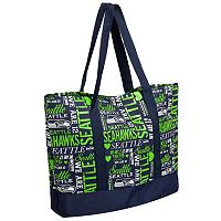 Forever Collectibles Seattle Seahawks Collage Tote