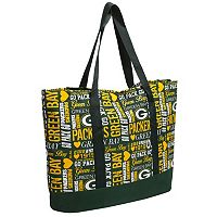 Forever Collectibles Green Bay Packers Collage Tote