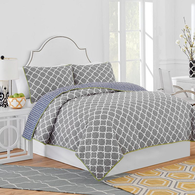 Jill Rosenwald Hampton Links Reversible Quilt