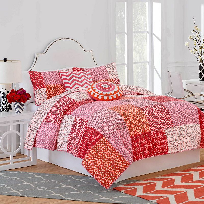 Jill Rosenwald Multi Patch Reversible Quilt