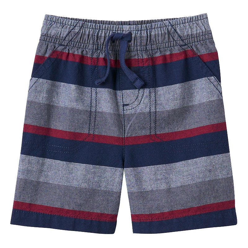 Baby Boy Jumping Beans® Yarn-Dyed Striped Shorts