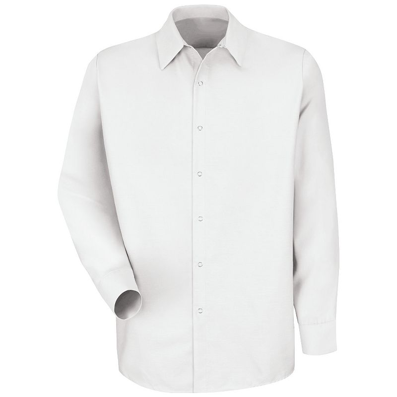Men's Red Kap Classic-Fit Solid Button-Down Work Shirt