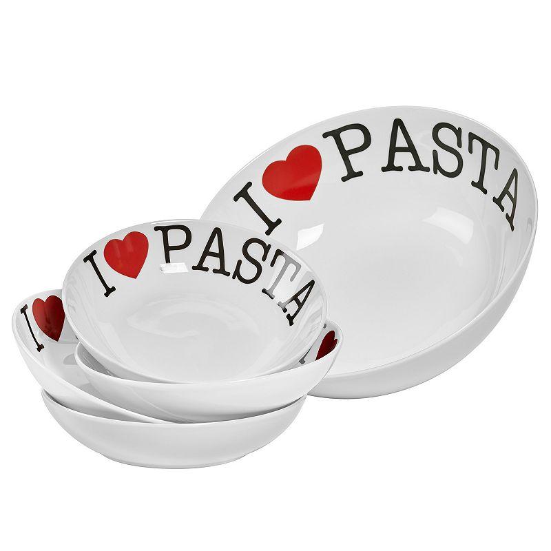 Gallery I Love Pasta 5-pc. Serving Set