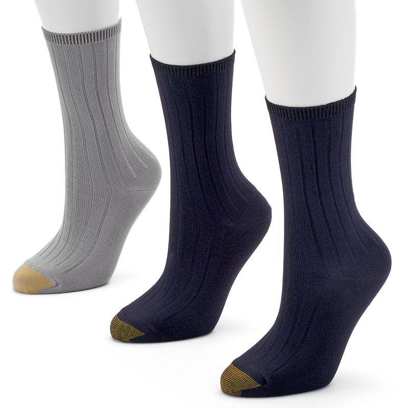 GOLDTOE 3-pk. Ultrasoft Crew Socks - Women
