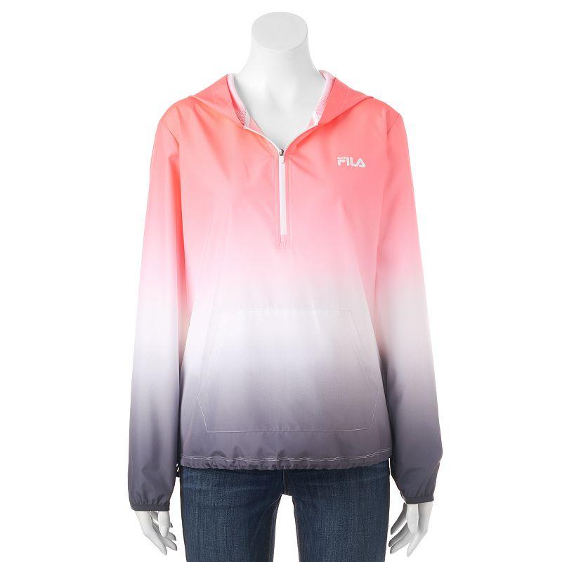 Women's FILA SPORT® Quarter-Zip Ombre Running Jacket