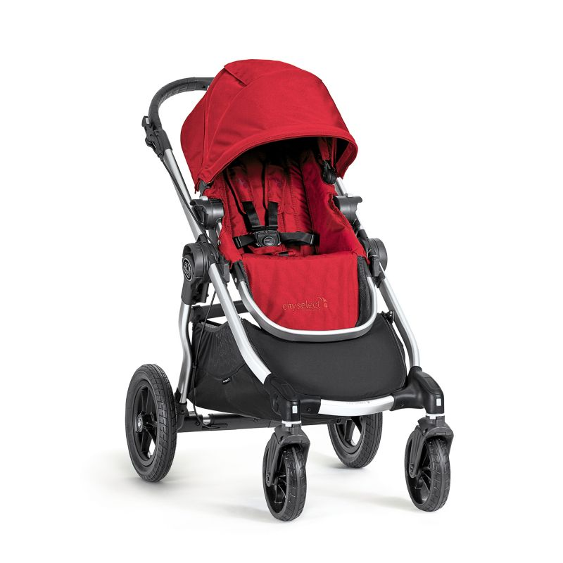 Baby Jogger City Select Stroller, Red