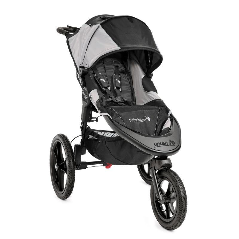 Baby Jogger Summit X3 Hybrid Jogger Stroller, Black
