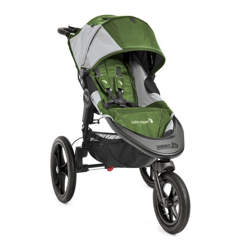 Baby Jogger Summit X3 Hybrid Jogger Stroller, Green