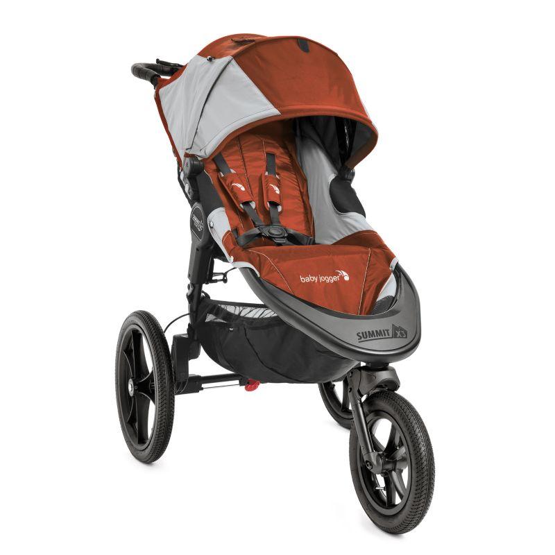 Baby Jogger Summit X3 Hybrid Jogger Stroller, Orange