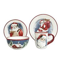 St. Nicholas Square® Santa 16-pc. Dinnerware Set