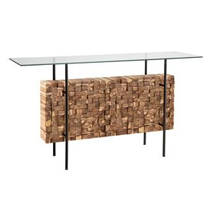 INK+IVY Benson Bundle Console Table