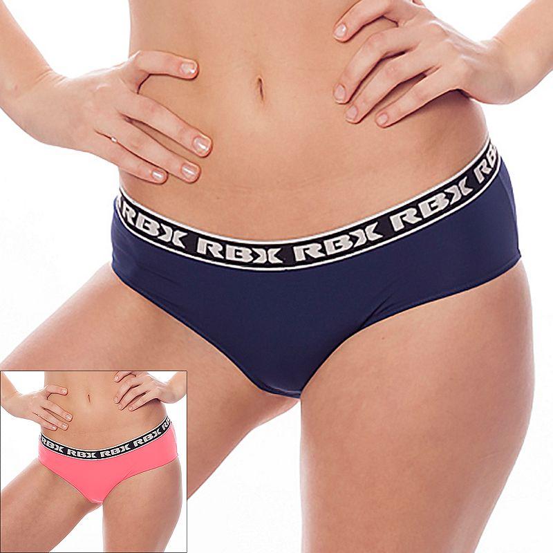 Women's RBX 2-Pack Microfiber Bikini Sport Briefs RBX094