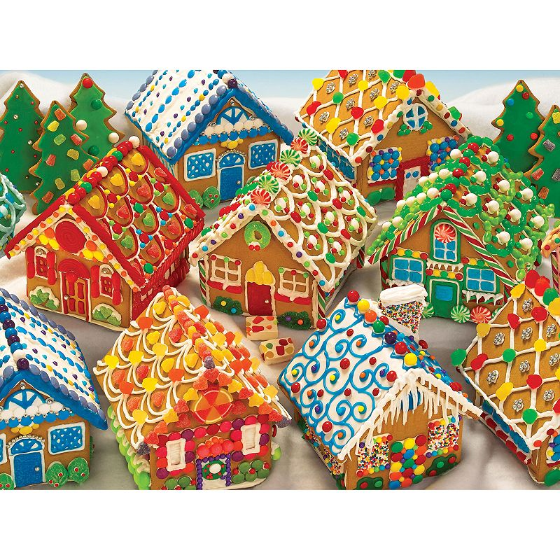 Cobble Hill Gingerbread Houses 1000-pc. Jigsaw Puzzle
