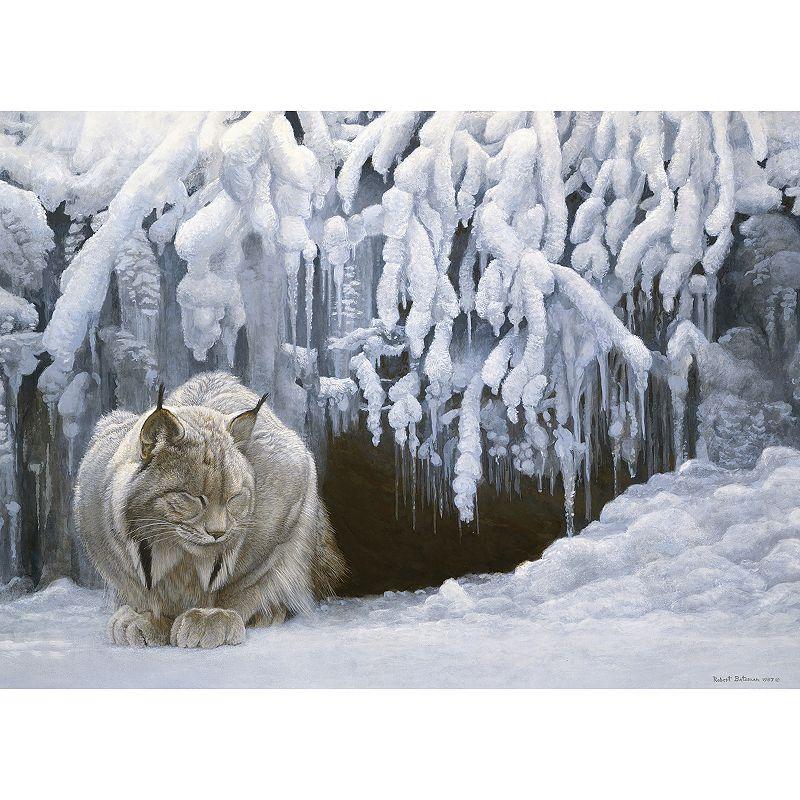 Cobble Hill Dozing Lynx 1000-pc. Jigsaw Puzzle