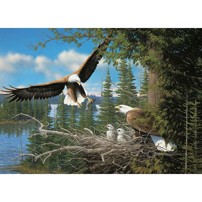 Cobble Hill Nesting Eagles 1000-pc. Jigsaw Puzzle