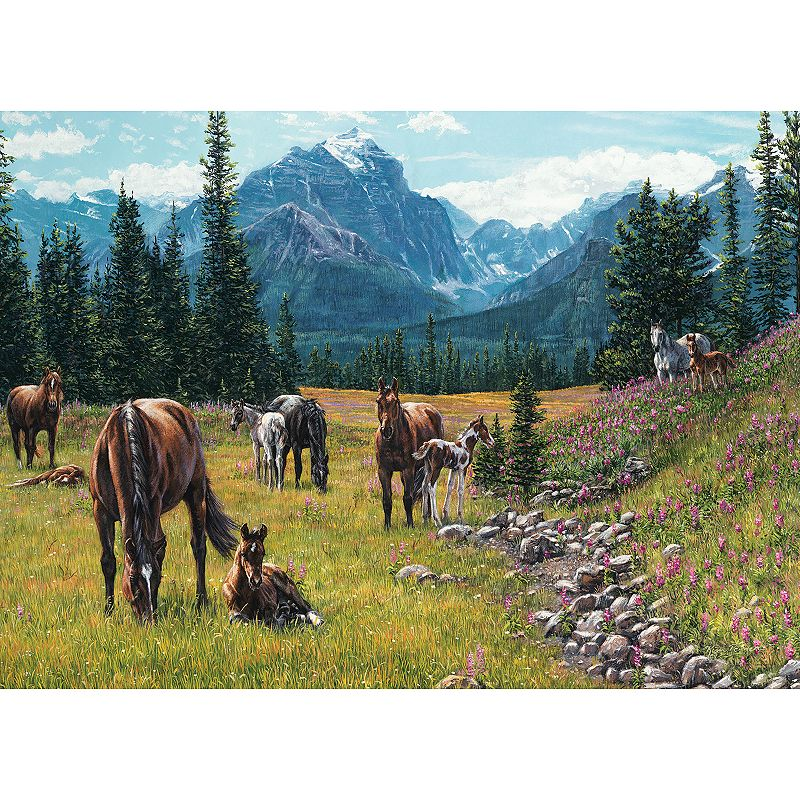 Cobble Hill Horse Meadow 1000-pc. Jigsaw Puzzle