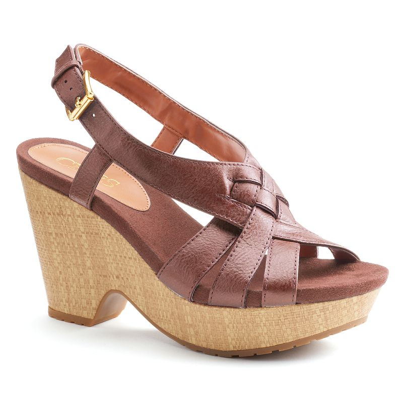 Chaps Jaida Women's Wedge Sandals