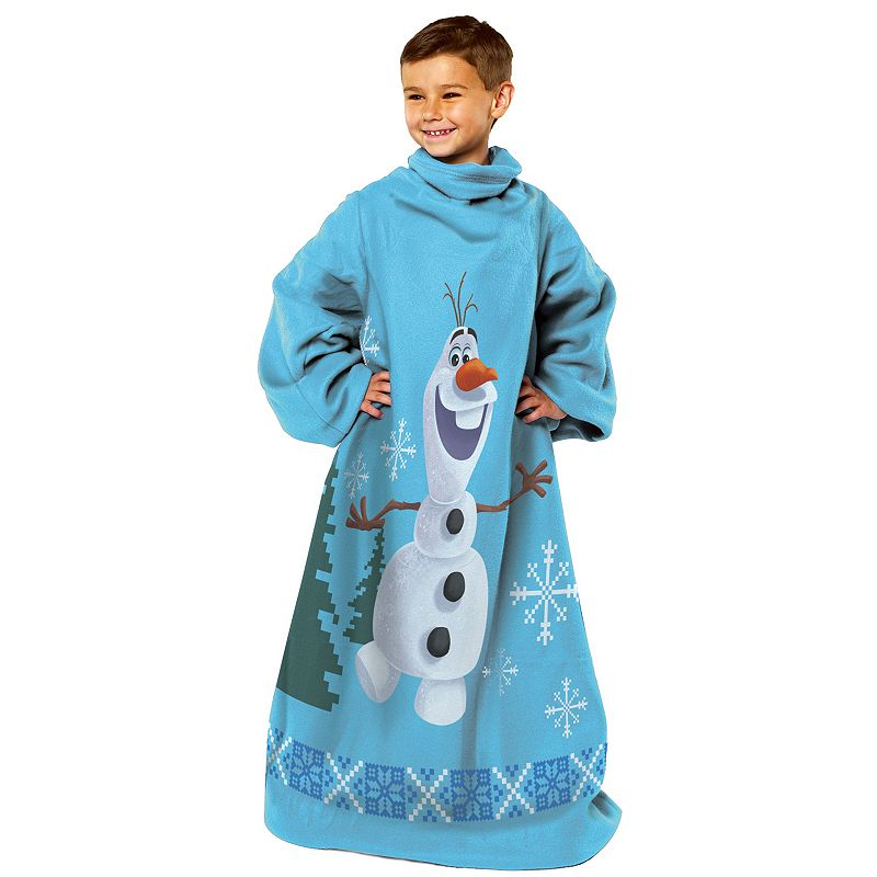 Disney's Frozen Made of Snow Olaf Kid's Comfy Throw
