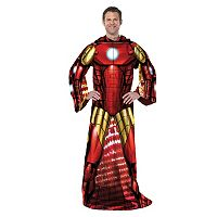 Marvel Being Iron Man Adult Comfy Throw